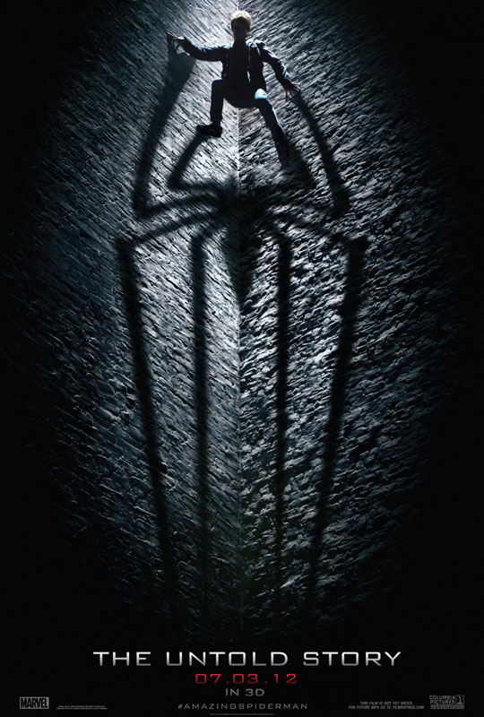 "Teaser-Poster zu ""The Amazing Spider-Man"""