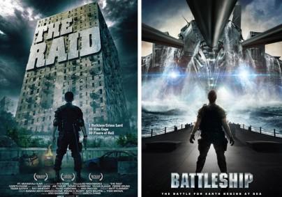 """""""The Raid"""" vs. """"Battleship"""""""