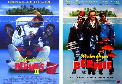 """Filmplakate zu """"Wieder Ärger mit Bernie"""""""