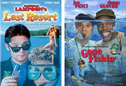 """Filmplakate zu """"Last Resort"""" und """"Gone Fishin'"""""""