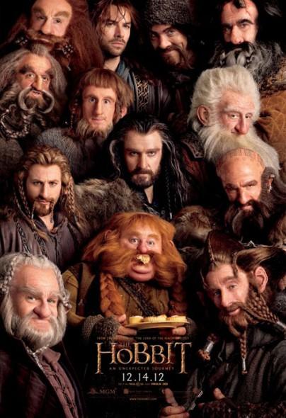 """Filmplakat zu """"Der Hobbit"""""""