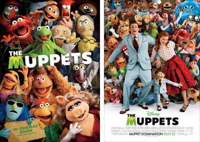 """Filmplakate zu """"Die Muppets"""""""