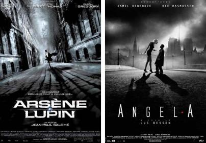 """Filmplakate zu """"Arsene Lupin"""" und """"Angel-A"""""""