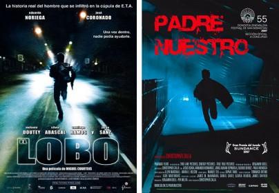 """Filmplakate zu """"El Lobo - Der Wolf"""" und """"Padre Nuestro"""""""