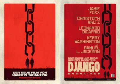 "Filmplakate zu ""Django Unchained"""