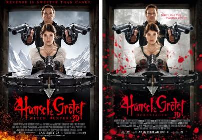"""Filmplakate zu """"Hänsel & Gretel"""""""