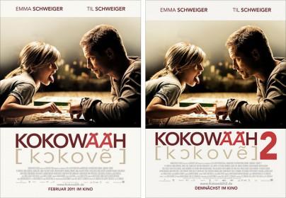 """Filmplakate zu """"Kokowääh"""" und """"Kokowääh 2"""""""
