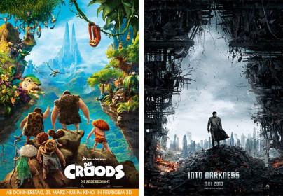 """""""Die Croods"""" und """"Star Trek Into Darkness"""""""
