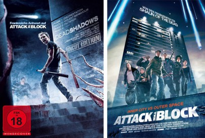 "Filmplakat zu ""Dead Shadows"" und ""Attack the Block"""