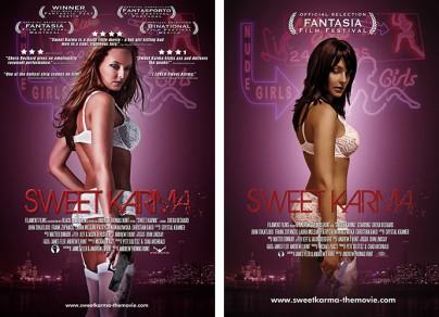 """Filmplakate zu """"Sweet Karma"""""""