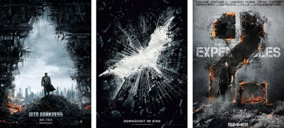 """Star Trek Into Darkness"", ""The Dark Knight Rises"" und ""The Expendables 2"""