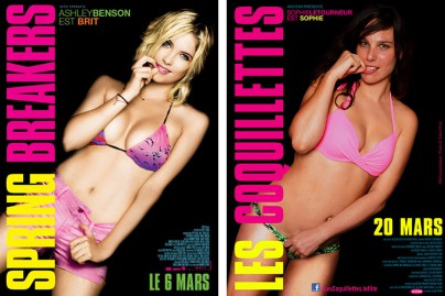 """Spring Breakers"" vs. ""Les coquillettes"""