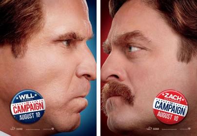 """Filmplakate zu """"The Campaign"""""""