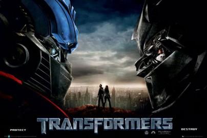 """Filmplakat zu """"Transformers"""""""