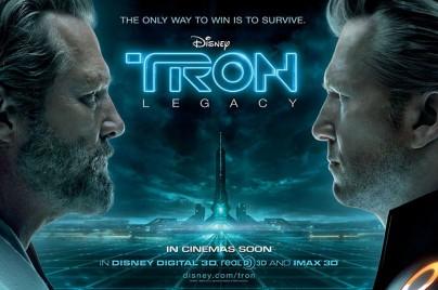 "Filmplakat zu ""Tron Legacy"""