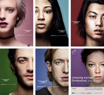 """Plakate zum """"Crossing Europe Filmfestival"""""""