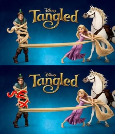"""Filmplakat zu """"Rapunzel""""(Tangled)"""