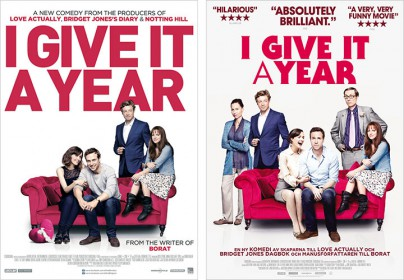 """Filmplakate zu """"Das hält kein Jahr"""" (""""I Give it a Year"""")"""