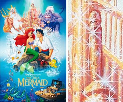 """Ein verstecktes Bild im Plakat von """"Little Mermaid"""""""