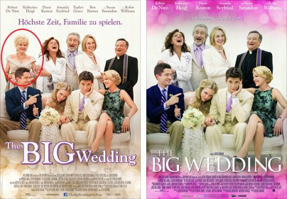 "Filmplakate zu ""The Big Wedding"""