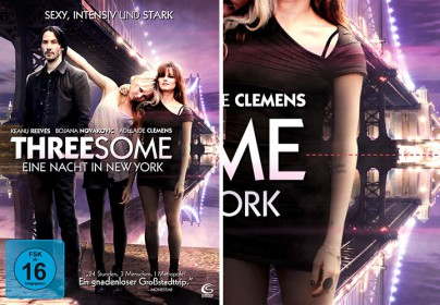 "DVD-Cover zu ""Threesome - Eine Nacht in New York"""