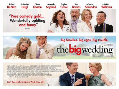 "Filmplakat zu ""The Big Wedding"""
