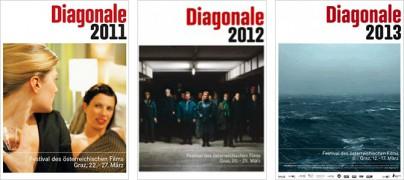 Plakate der Diagonale 2011 bis 2013