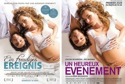"""Filmplakate zu """"Ein freudiges Ereignis"""""""