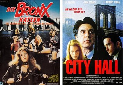 """""""Die Bronx-Katzen"""" und """"City Hall"""""""