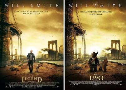 """""""I Am Legend"""" und """"I Am Lego"""""""