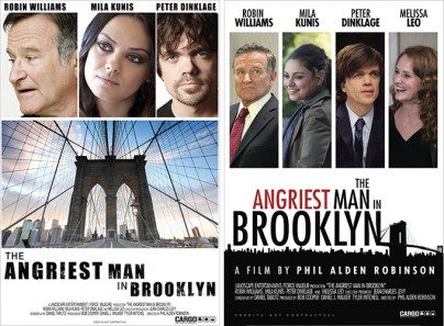 "Filmplakate zu ""The Angriest Man in Brooklyn"""