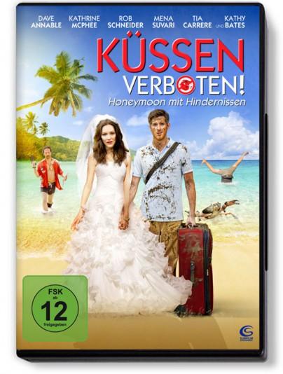 """DVD-Cover zu """"Küssen verboten - Honeymoon mit Hindernissen"""""""