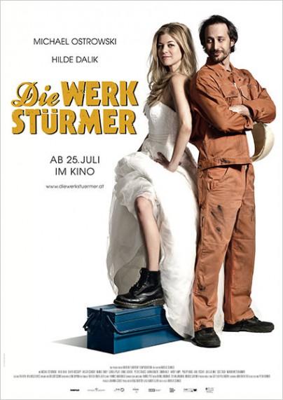 """Filmplakat zu """"Die Werkstürmer"""""""