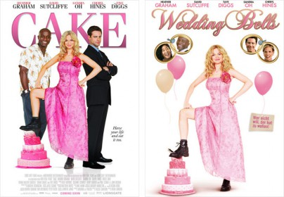 "Filmplakate zu ""Cake"" (Wedding Bells)"