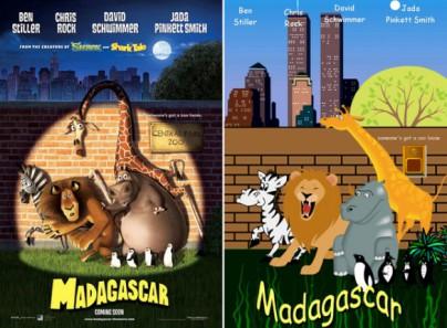 "Filmplakat zu ""Madagascar"""