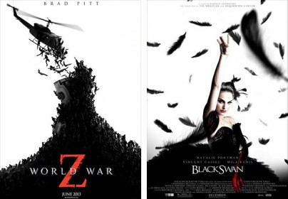"""World War Z"" vs. ""Black Swan"""
