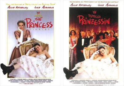 """Filmplakate zu """"Plötzlich Prinzessin"""""""