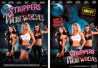 "Filmplakate zu ""Strippers vs. Werewolves"""