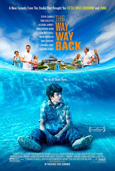"Filmplakat zu ""The Way, Way Back"""
