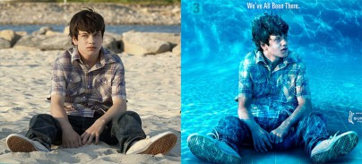 Die Bilder im Vergleich
