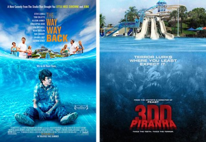 """The Way, Way Back""  vs. ""Piranhas 2"""