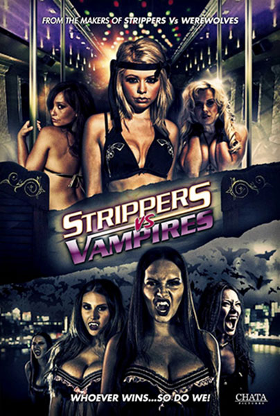 "Filmplakat zu ""Strippers vs. Vampires"""