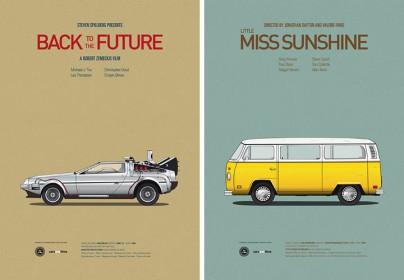 """""""Zurück in die Zukunft"""" und """"Little Miss Sunshine"""""""
