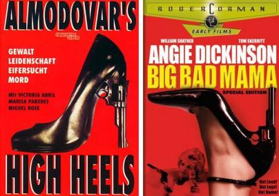 """Filmplakte zu """"High Heels"""" und """"Big Bad Mama"""""""