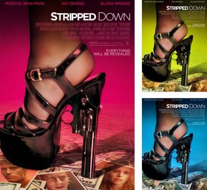 "Filmplakate zu ""Stripped Down"""
