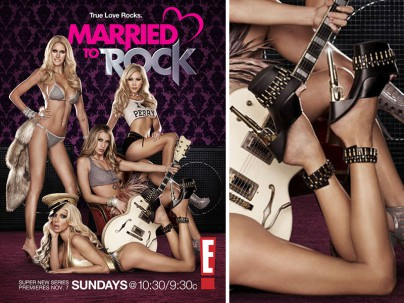 """""""Married to Rock"""" mit den Schuhen von Josie Stevens"""