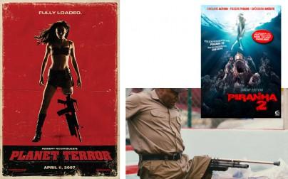 """""""Planet Terror"""" und Ving Rhames in """"Piranha 2"""""""