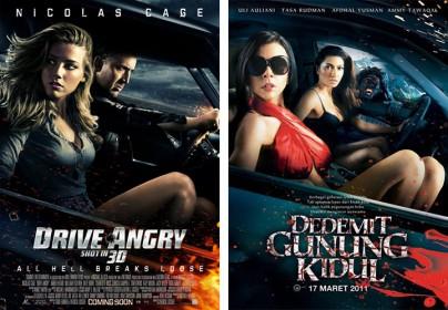 """Drive Angry"" vs. ""Dedemit gunung kidul"""