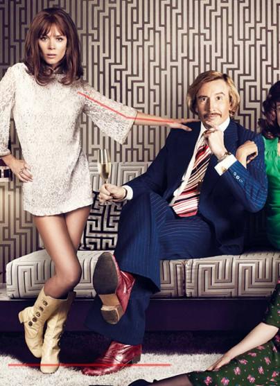 """Anna Friel auf dem Plakat von """"The Look of Love"""""""