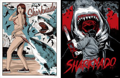 "Fan Art zu ""Sharknado"""